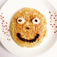 Pancake de quinua y avena