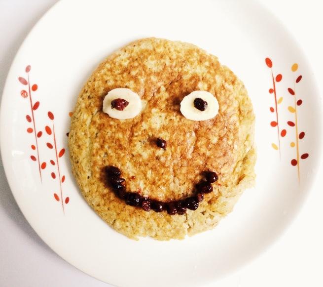 pancake de avena y quinua