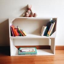 La biblioteca Montessori a la altura de un niño