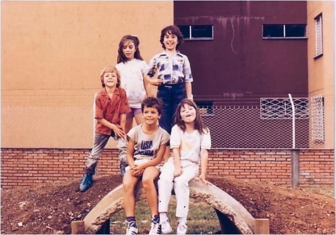 Foto tomada por la época en que los alfajores irrumpieron en mi vida.