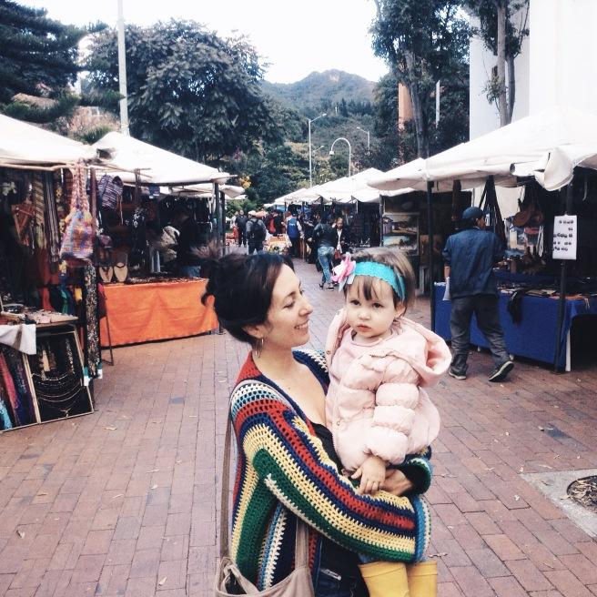 Recorriendo la capital, Bogotá