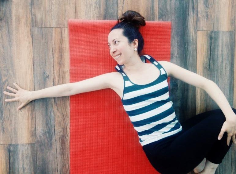 Cuando empiezas a practicar yoga