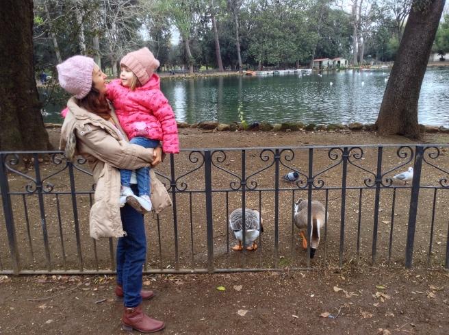 Roma y el parque