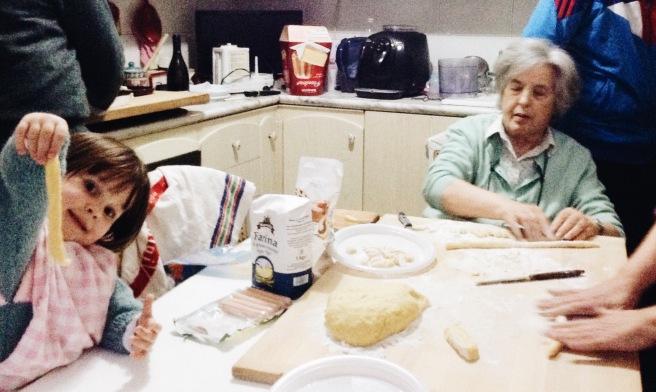 La receta de los ñoquis de la nonna