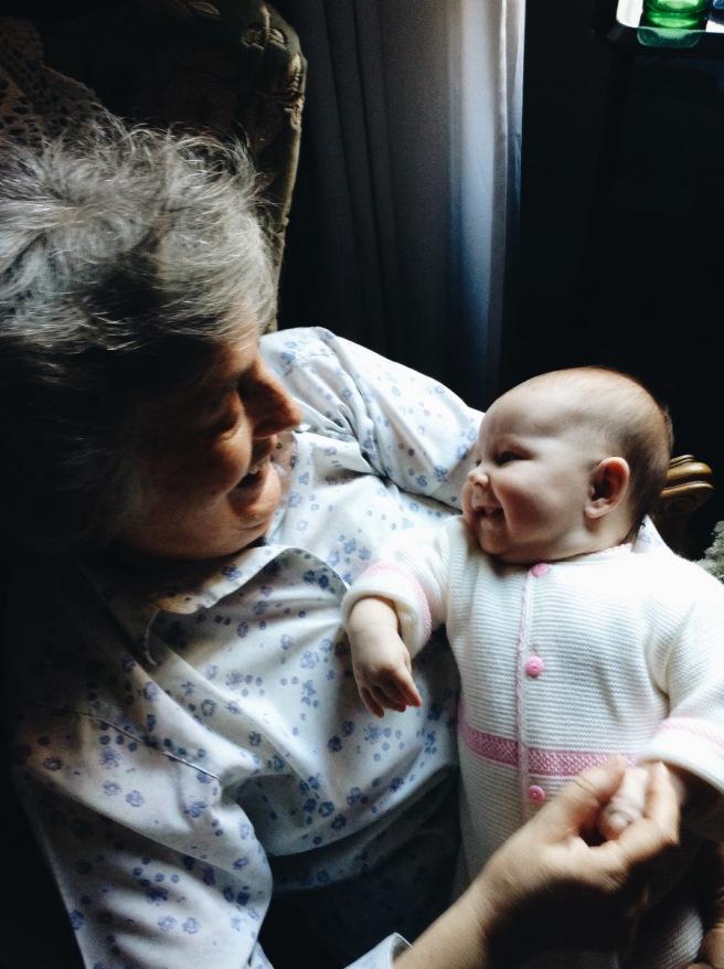 Nonna y nieta