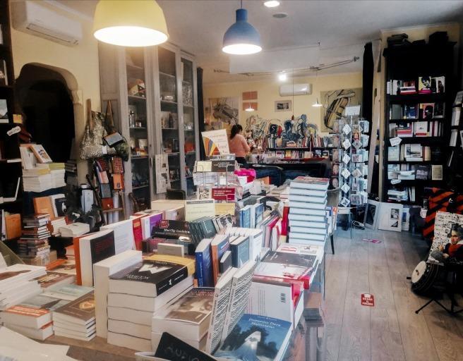 Una maravillosa libreria en Roma